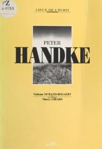 Fabienne Durand-Bogaert - Peter Handke.