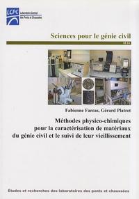 Méthodes physico-chimiques pour la caractérisation de matériaux du génie civil et le suivi de leur vieillissement - Fabienne Farcas | Showmesound.org