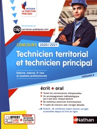 Fabienne Geninasca et Serge Bertrand - Concours technicien territorial et technicien principal.