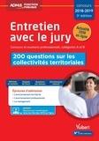 Fabienne Geninasca - Entretien avec jury Concours et examens professionnels, catégories A et B - 200 questions sur les collectivités territoriales.