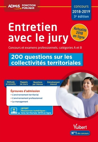 Entretien avec jury Concours et examens professionnels, catégories A et B - Fabienne Geninasca - Format ePub - 9782311206036 - 12,99 €