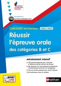 Fabienne Geninasca et Céline Tatat - CONCOURS ADMIN  : Réussir l'épreuve orale des catégories B et C - Concours territoriaux 2022-2023 - N° 51 EPUB 2021.