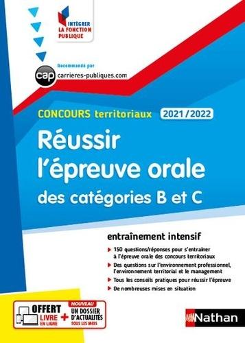 Réussir l'épreuve orale des catégories B et C Concours territoriaux  Edition 2021-2022