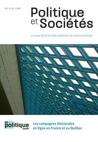 Fabienne Greffet et Thierry Giasson - Politique et Sociétés  : Politique et Sociétés. Vol. 37 No. 2,  2018 - enpolitique.com.