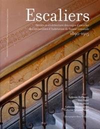 Fabienne Hoffmann et Dave Lüthi - Escaliers - Décors et architecture des cages d'escaliers des immeubles d'habitation de Suisse romande 1890-1915.