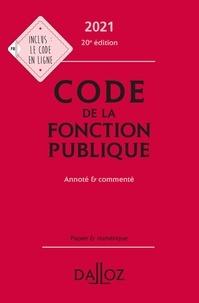 Fabienne Lambolez et Jérôme Michel - Code de la fonction publique - Annoté et commenté.