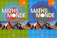 Fabienne Lanata - Maths Monde Cycle 4 - 2 volumes.
