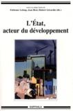 Fabienne Leloup et Jean Brot - L'Etat, acteur du développement.