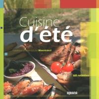 Fabienne Maestracci et Marie-Louise Maestracci - Cuisine d'été - 68 recettes.