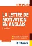 Fabienne Mercier - La lettre de motivation en anglais.