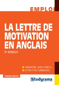 La lettre de motivation en anglais - Fabienne Mercier pdf epub