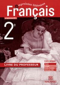 Fabienne Pegoraro-Alvado et Coralie Doux-Pouget - Français 2nd - Livre du professeur.