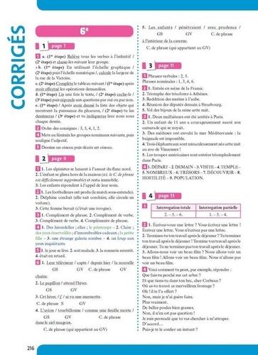 Les années de collège Français 6e-5e-4e-3e  Edition 2016