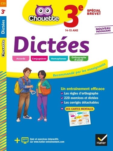 Dictees 3e Special Brevet Grand Format