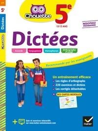 Fabienne Sauve - Dictées 5e - cahier d'entraînement en orthographe.