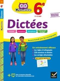 Fabienne Sauve - Dictées 6e - cahier d'entraînement en orthographe.