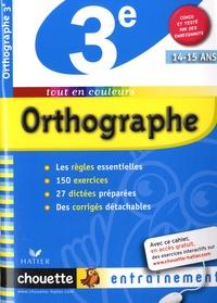 Fabienne Sauve - Orthographe 3e.