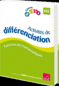 Fabienne Schramm - Classe Maths CE2 - Activités de différenciation.
