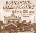 Fabienne Texier - Boulogne-Billancourt - Il y a 100 ans en cartes postales anciennes.