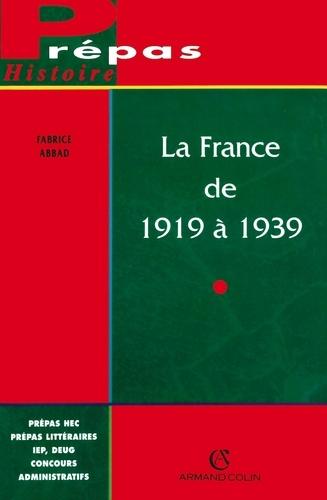 La France de 1919 à 1939