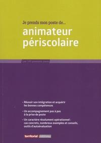 Fabrice Anguenot et Lucile Banquet - Je prends mon poste d'animateur périscolaire.