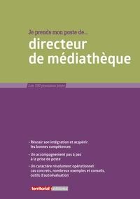 Fabrice Anguenot et Joël Clérembaux - Je prends mon poste de directeur de médiathèque.