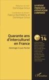 Fabrice Barthélemy et Dominique Groux - Raisons, comparaisons, éducations N° 14, mars 2016 : Quarante ans d'interculturel en France - Hommage à Louis Porcher.