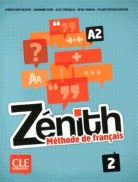 Fabrice Barthélemy et Sandrine Chein - Zénith 2 A2 - Méthode de français. 1 DVD