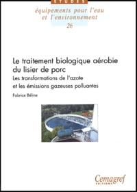 Galabria.be Le traitement biologique aérobie du lisier de porc - Les transformations de l'azote et les émissions gazeuses polluantes (NH3, N2O) Image