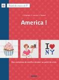 Fabrice Besse et Véronique Enginger - America ! - Des centaines de motifs à broder au point de croix.