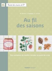 Fabrice Besse et Monique Bonnin - Au fil des saisons - Des centaines de motifs à broder au point de croix.