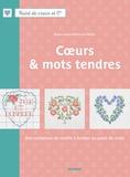 Fabrice Besse et Marie-Anne Réthoret-Mélin - Cours et mots tendres - Des centaines de motifs à broder au point de croix.
