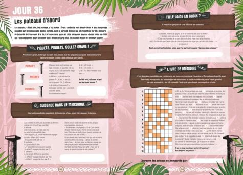 Cahier de vacances pour adultes Koh-Lanta  Edition 2020