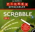 Fabrice Bouvier - La boîte à fiches effaçables Scrabble - Volume 2.