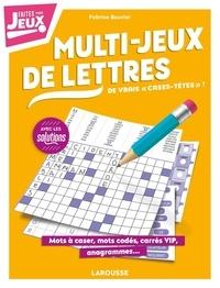 Fabrice Bouvier - Multi-jeux de lettres - 2020.