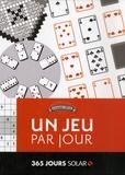 Fabrice Bouvier et Aurélien Kermarrec - Un jeu par jour.