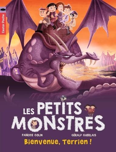 Fabrice Colin et Gérald Guerlais - Les petits monstres Tome 5 : Bienvenue, Terrien !.