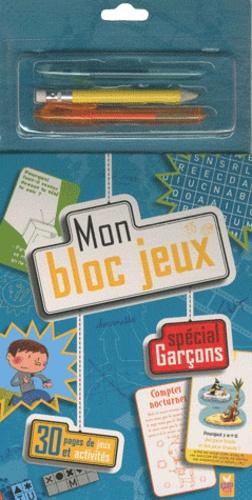 Fabrice Colin et Claire Lelièvre - Mon bloc jeux - Spécial Garçons.