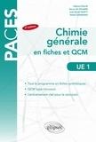Fabrice Collin et Nancy de Viguerie - UE1 Chimie générale - Fiches et QCM.