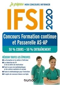 Fabrice de Donno et Corinne Pelletier - IFSI - Concours Formation continue et Passerelle, 50% Cours - 50% Entraînements.