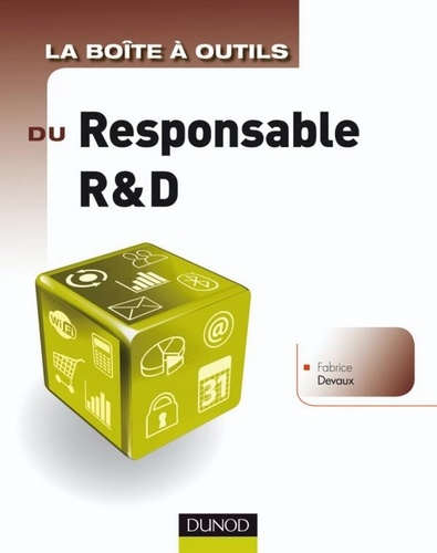 La Boîte à outils du responsable R&D - Format PDF - 9782100550692 - 14,99 €