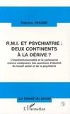 Fabrice Dhume - RMI et psychiatrie - Deux continents à la dérive ? L'interinstitutionnalité et le partenariat comme catalyseurs des questions d'identité du travail social et de la psychiatrie.
