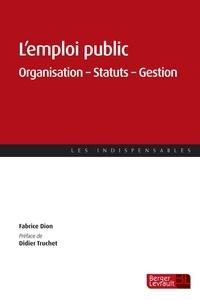 Lemploi public - Organisation - Statuts - Gestion.pdf