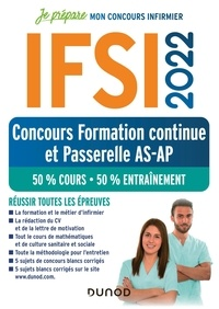 Fabrice Donno et Corinne Pelletier - IFSI - Concours formation continue et Passerelle AS-AP, 50% cours - 50% entraînement.
