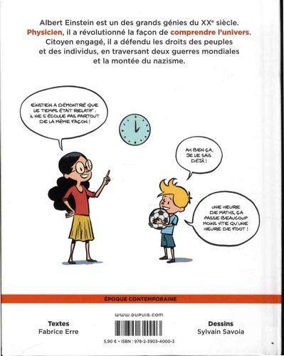 Le fil de l'histoire raconté par Ariane & Nino  Albert Einstein. Un physicien de génie