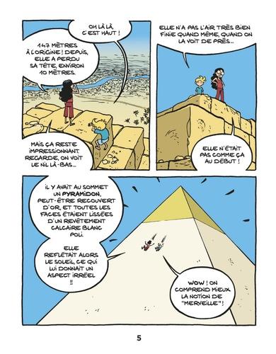Le fil de l'histoire raconté par Ariane & Nino  La pyramide de Khéops. La 1re merveille du monde