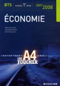 Fabrice Ferreira et Christophe Kreiss - Economie BTS 1re année.