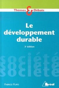 Fabrice Flipo - Le développement durable.