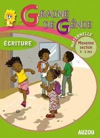 Fabrice Gachet - Ecriture Maternelle Moyenne section 4-5 ans.
