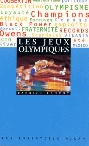 Fabrice Landry - Les Jeux Olympiques.